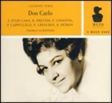 Don Carlo - CD Audio di Giuseppe Verdi,Fiorenza Cossotto,Nicolai Ghiaurov,Piero Cappuccilli,Thomas Schippers,Orchestra Sinfonica RAI di Roma
