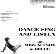 Dance Sing and Listen - CD Audio di Bruce Haack,Miss Nelson