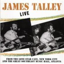 Live - CD Audio di James Talley