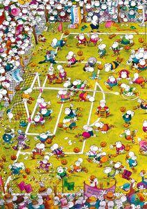 Giocattolo Puzzle Crazy Football, Mordillo Heye