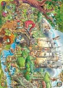 Giocattolo Puzzle Fairy Tales, Prades Heye