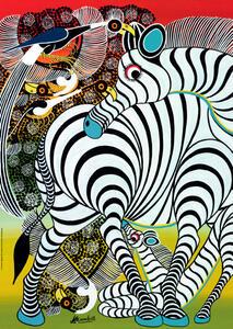 Puzzle Zebra - 2