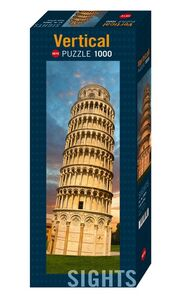 Giocattolo Puzzle Sights Tower of Pisa Heye 0