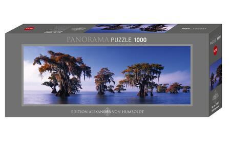 Puzzle 1000 Pezzi Panorama. Cipressi Calvi - 2