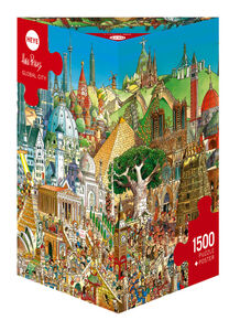 Giocattolo Cartoon Puzzle Prades Global City Heye 0
