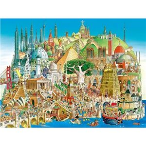 Giocattolo Cartoon Puzzle Prades Global City Heye 1