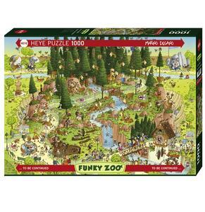 Puzzle 1000 pezzi Degano. Black Forest Habitat - 2
