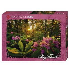Puzzle 2000 pezzi Magic Forest. Rhododendron