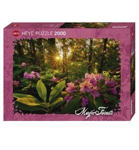 Giocattolo Puzzle 2000 pezzi Magic Forest. Rhododendron Heye 0