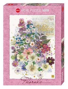 Giocattolo Puzzle 1000 pezzi Jane Crowther. Pink Creation Heye