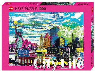 Puzzle 1000 Pezzi. I Love New York!