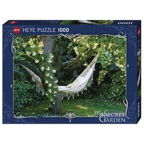 Giocattolo Puzzle 1000 pezzi My Segret garden. Hammock Heye 0