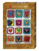 Giocattolo Puzzle Standard 500 pezzi. Year Of Love, Steinmayer Heye