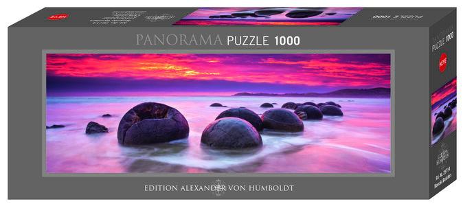 Giocattolo Puzzle Panorama Massi Moeraki 1000 pezzi Heye