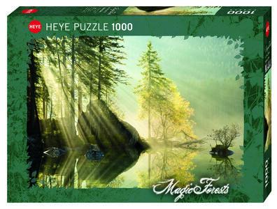 Giocattolo Puzzle Bagliore Mattutino 1000 pezzi Heye 0
