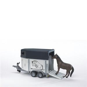 Rimorchio per cavalli + 1 cavallo - 2