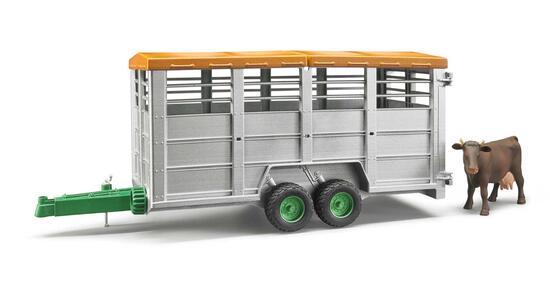 Rimorchio Trasporto Animali con 1 Mucca - 2