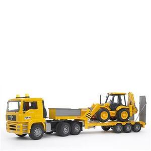 Camion Man con bilico + Escavatore - 2