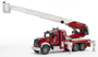 Giocattolo Camion Mack Pompieri con scala (02821) Bruder 0