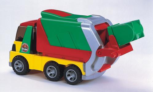 Giocattolo Roadmax camion immondizia Bruder 0