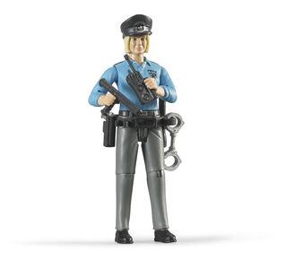 Giocattolo Poliziotta Pelle Chiara Bruder