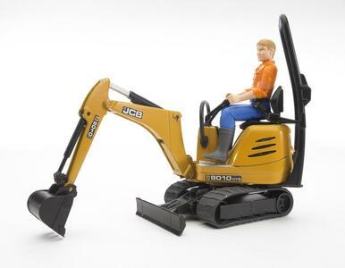 Escavatore JCB Micro con personaggio (62002) - 2