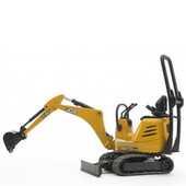 Giocattolo Escavatore JCB 8010 CTS Micro (62003) Bruder