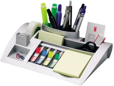 Cartoleria Organizer da scrivania argento Post-it