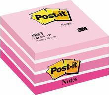 Blocchetto memo cube Post-it 2028-P pastello Rosa - 76x76