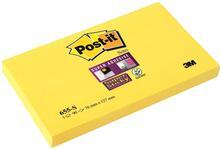 3M Post-it. 90 Foglietti Super Sticky Colore Giallo Oro 76x127mm