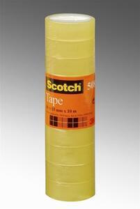 3M Post-it. Nastro Adesivo Scotch Trasparente Acrilico 15mmx10m
