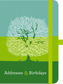 Rubrica Green Adresses & Birthdays