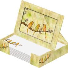 Cornice e bloc notes Green Box