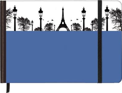 Cartoleria Taccuino pagine bianche Silhouettes Horizontal Paris TeNeues