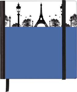 Cartoleria Taccuino pagine bianche Silhouettes Pocket Sqare Paris TeNeues