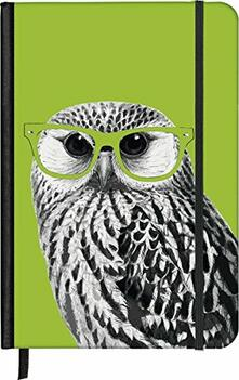 Notebook small Nerdy Owl