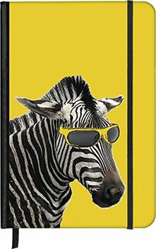 Notebook small Cool Zebra