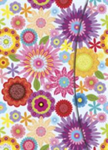 Taccuino TeNeues Magneto BlankBook 16 x 22. Fantasia di fiori
