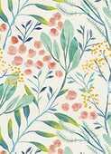 Cartoleria Taccuino TeNeues GreenBooklet 14,9 x 20,9. Floral TeNeues