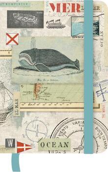 Taccuino TeNeues GreenJournal 10 x 15. Macrina Busato Nautical