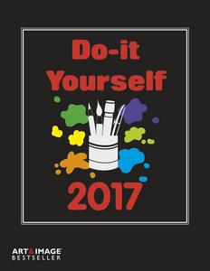Cartoleria Calendario 2017 Art & Image Do It Yourself Black 24x31 TeNeues