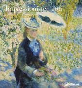 Cartoleria Calendario 2017 Art & Photo 45x48. Impressionism TeNeues