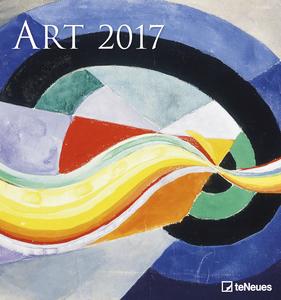 Cartoleria Calendario 2017 Art & Photo 45x48. ART TeNeues 0