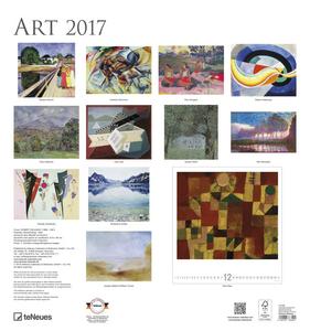 Cartoleria Calendario 2017 Art & Photo 45x48. ART TeNeues 1