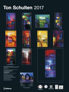 Cartoleria Calendario 2017 Poster. Ton Schulten TeNeues 1