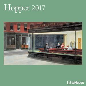 Cartoleria Calendario 2017 Fine Arts 30x30. Hopper TeNeues 0