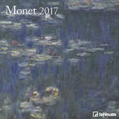 Cartoleria Calendario 2017 Fine Arts 30x30. Monet TeNeues