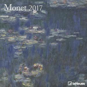 Cartoleria Calendario 2017 Fine Arts 30x30. Monet TeNeues 0