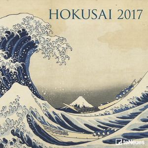 Cartoleria Calendario 2017 Fine Arts 30x30. Hokusai TeNeues 0