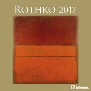 Cartoleria Calendario 2017 Fine Arts 30x30. Rothko TeNeues 0